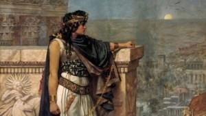 لوحة فنية للملكة زنوبيا